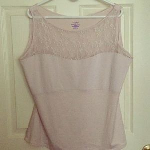 SPANX light taupe camisole top 3X